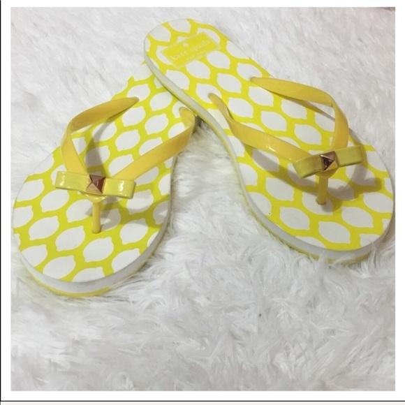 0e95025f2c30 kate spade Shoes - NWOB Kate Spade Nova EVA Flip Flops - Yellow Lemon